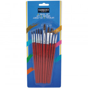 10 Count Quality Brush Asst.