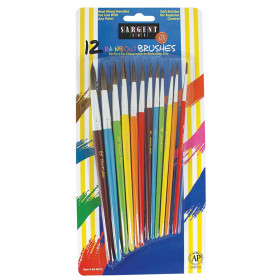 """Rainbow"" Paint Brush Set!"