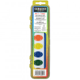 Art-Time Watercolor Paints, 8 Colors