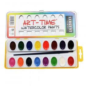 Art-Time® Watercolor Set, 16 Colors