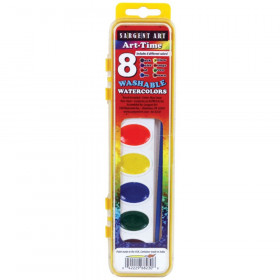 Art-Time Washable Watercolor Set, 8 Colors