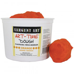 Orange Art-Time Dough
