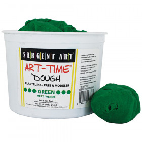 3Lb Art Time Dough - Green