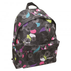 Economy Backpack Heart Pattern