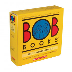 Bob Books Word Families Book, Set 3, Set of 10