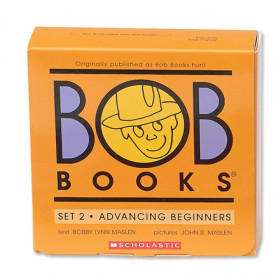 Bob Books Advancing Beginners Book, Set 2, Pack of 12