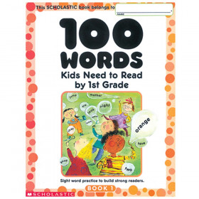 100 Words Kids Need To Read By 1St Gr