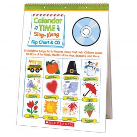 Calendar Time Sing Along Flip Chart And Cd