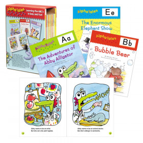 Scholastic Alpha Tales Learning Library