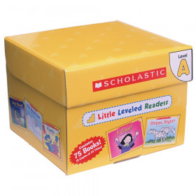 Little Leveled Readers Book: Level A Box Set, 5 Copies of 15 Titles