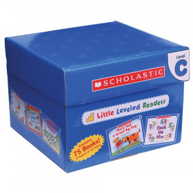 Little Leveled Readers Book: Level C Box Set, 5 Copies of 15 Titles