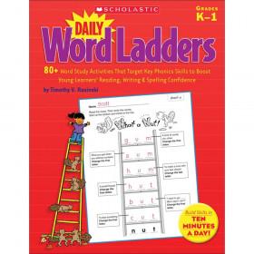 "Daily Word Ladders, Grades K-1, 8-3/8"" Width, 10-7/8"" Length"