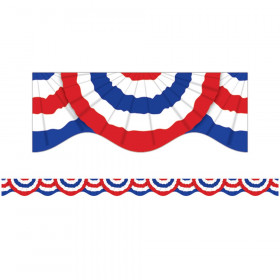 Patriotic Bunting Scalloped Trimmer