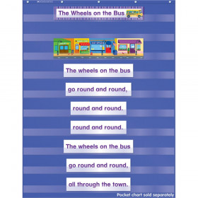 Favorite Kids Songs Pocket Chart Add Ons