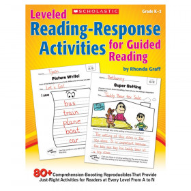Leveled Reading Response Activities for Guided Reading, Grade K-3