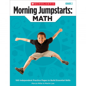 Scholastic Morning Jumpstarts Math Book, Grade 2