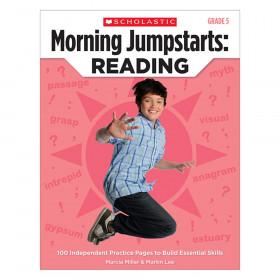 Scholastic Morning Jumpstarts Reading Book, Grade 5