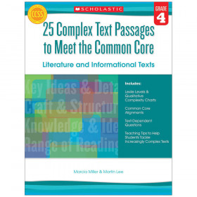 Gr 4 25 Complex Text Passages To Meet The Cc Literature & Info Text