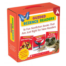Guided Science Readers, Level A, Parent Pack, Pack of 16 Books