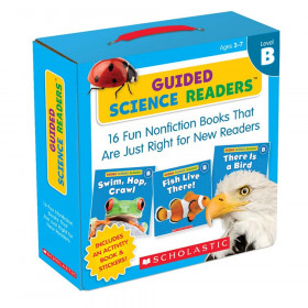 Guided Science Reader, Levels B, Parent Pack, Pack of 16 Books