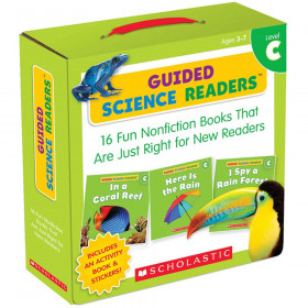 Level C Guided Science Readers Parent Pack