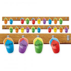 Colorful Caps Mini Bulletin Board