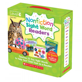 Nonfiction Sight Word Readers Set, Level C, Set of 25 Books