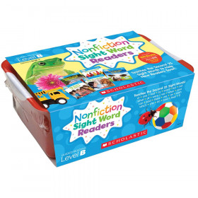 Nonfiction Sight Word Readers Classroom Tub, Level B, 6 Copies of 25 Titles