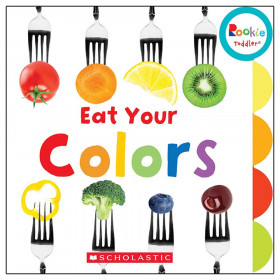 Rookie Toddler Board Book, Eat Your Colors