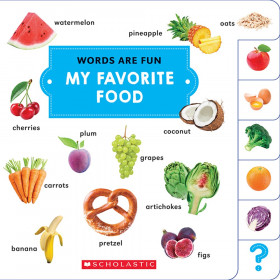 Words Are Fun My Favorite Food
