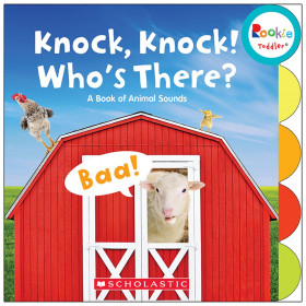 Rookie Toddler Board Book, Knock, Knock! Who's There?