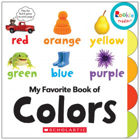 Rookie Toddler Board Book, My Favorite Book of Colors