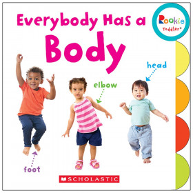 Rookie Toddler Board Book, Everybody Has a Body