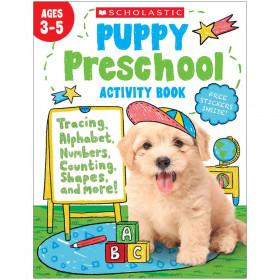 Puppy Preschool Activity Book