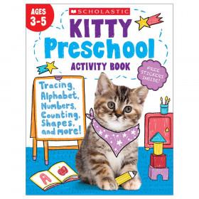 Kitty Preschool Activity Book
