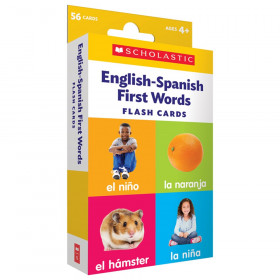Flash Cards: English-Spanish First Words