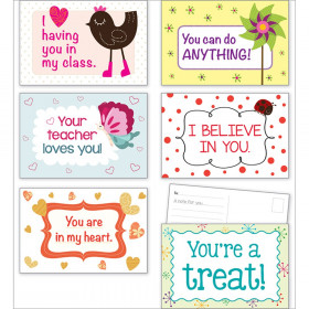 Valentine's Day Postcards, 36/Pack