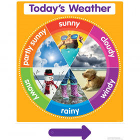 Color Your Classroom Todays Weather Chart