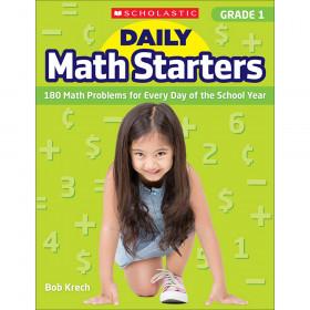 Daily Math Starters Gr 1