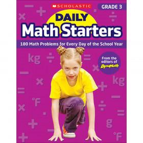 Daily Math Starters Gr 3
