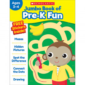 Jumbo Fun Workbooks Prek Fun