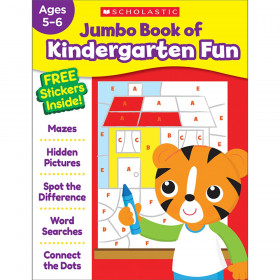 Jumbo Fun Workbook Kindergarten Fun