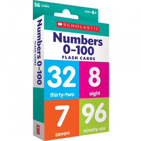 Flash Cards Numbers 0 To 100