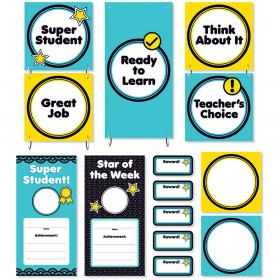 Aqua Oasis Behavior Clip Chart Mini Bulletin Board