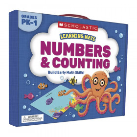 Learning Mats: Numbers & Counting, Grades PreK-1