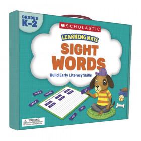 Learning Mats: Sight Words, Grades K-2