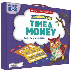 Learning Mats Time And Money