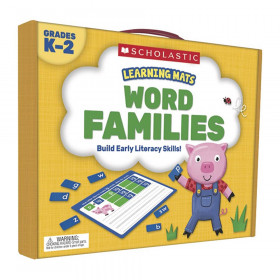 Learning Mats: Word Families, Grades K-2