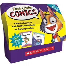Classroom Set Levels E And F First Little Comics