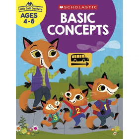 Little Skill Seekers: Basic Concepts Activity Book